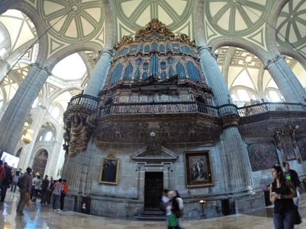 Interior da Catedral Metropolitana México