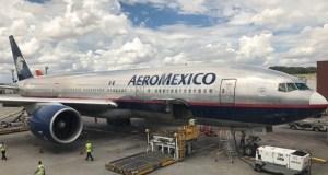 Avião da Aeromexico
