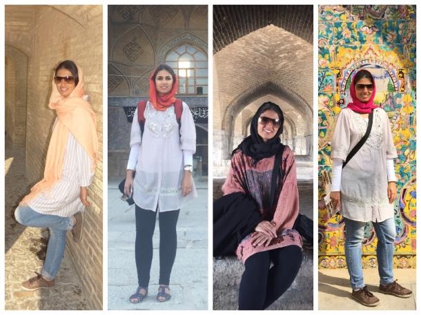Roupas para vestir no Irã