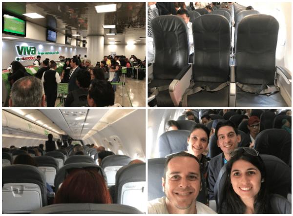 Avião da Viva Aerobus