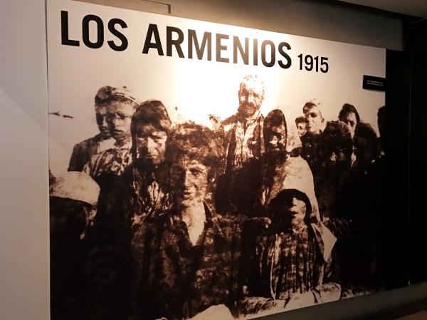 Genocídio Armênio no Museu da Memória e Tolerância