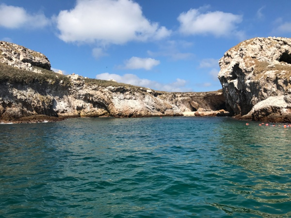 Mergulho nas Islas Marietas