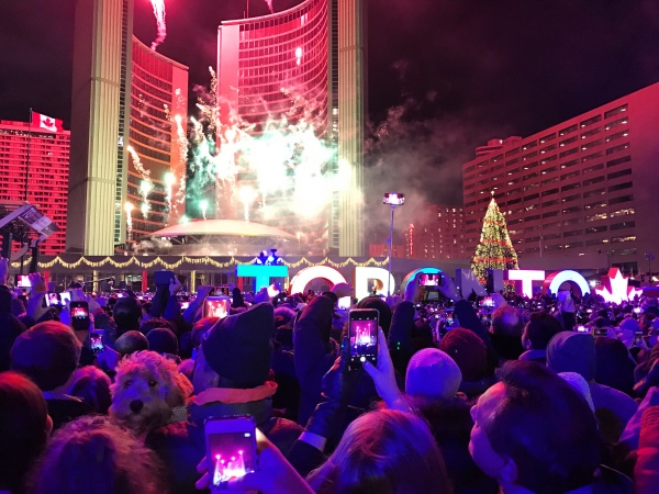 New Year in Toronto