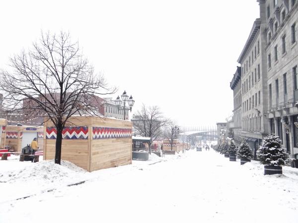 Montreal coberta de Neve