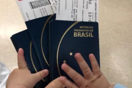 Diário de viagem: primeira viagem internacional com o nosso Projetinho