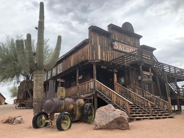 Minefield Ghost Town