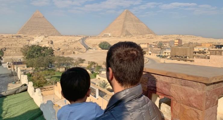 Como é viajar para o Egito com um bebê? Dicas para não passar apuros com os pequenos!