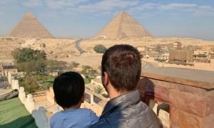 Egito com um bebê