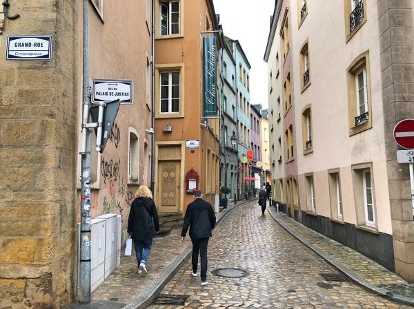 Grand Rue Luxembourg