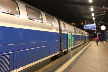 Viagem de trem de Luxemburgo a Paris
