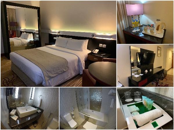 Quarto do hotel em Dubai