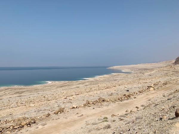 Mar Morto na Jordânia