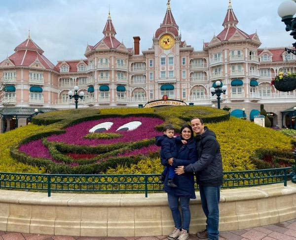 Entrada do Disneyland Park