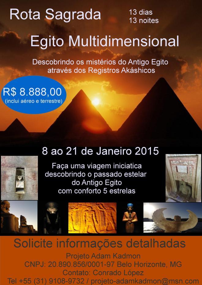 """Viagem """"Egito Multidimensional"""" Janeiro 2015"""