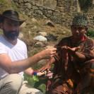 Cerimônia em Machu Picchu - Peru