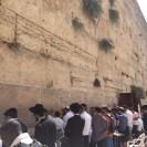 Muro das lamentações durante a festa do Tabernáculo