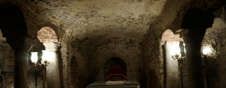 Cripta Sagrada Família • Abou Serga • Bairro Copto • Cairo • Rota Sagrada: Egito & Jordania Jun 2019
