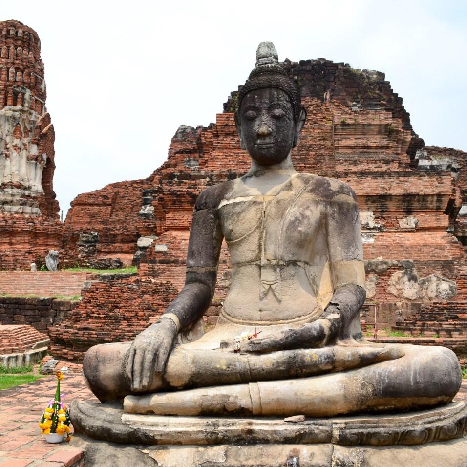 Wat Mahathat - Ayutthaya Temple - Thailand