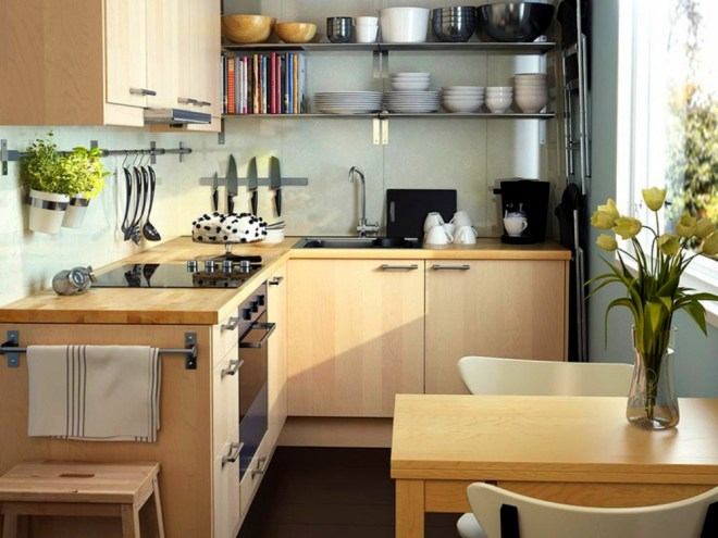 wood-cabinets-small-kitchen-remodel-ideas