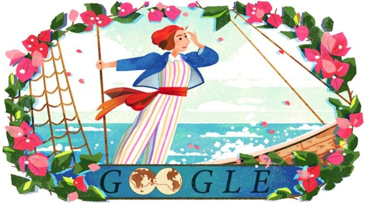 jeanne baret é homenageada pelo google