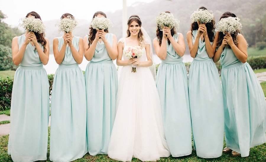 Neo Mint: a cor de 2020. Como colocá-la no seu casamento?
