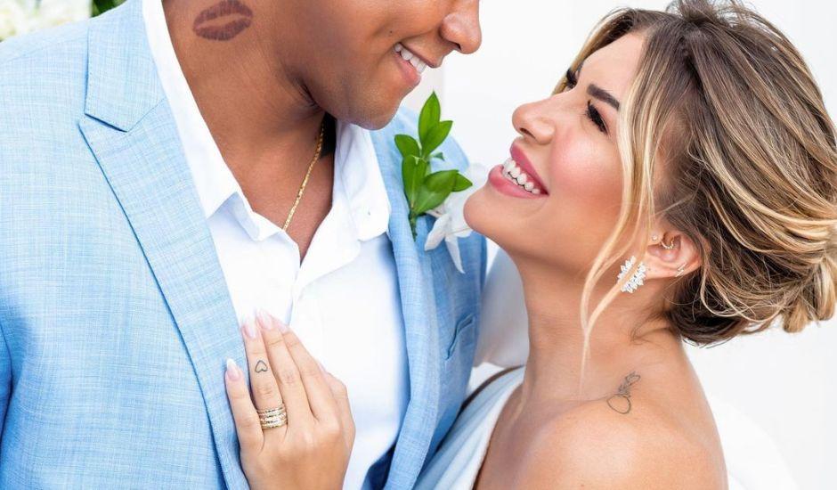 Casamento Lore Improta e Léo Santana; veja como foi