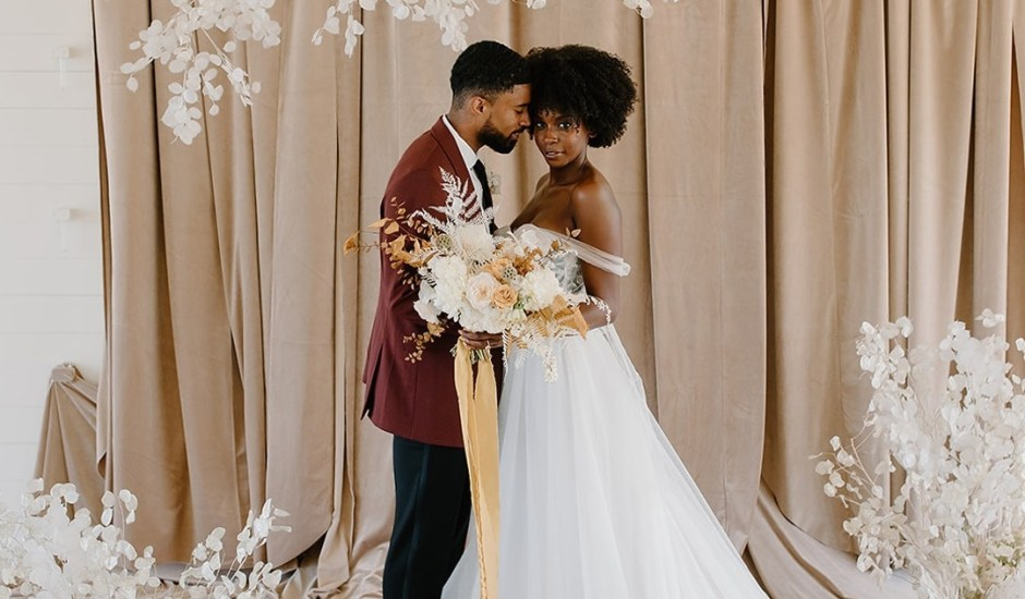 Para inspirar: fotos de casamento de casais negros