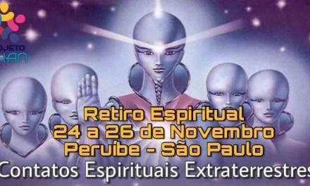 RETIRO ESPIRITUAL – Contatos Espirituais Extraterrestres