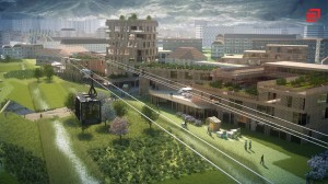 ville durable 2030 eiffage poma 300x168 La ville en 2030 : Présentation de la ville durable du futur