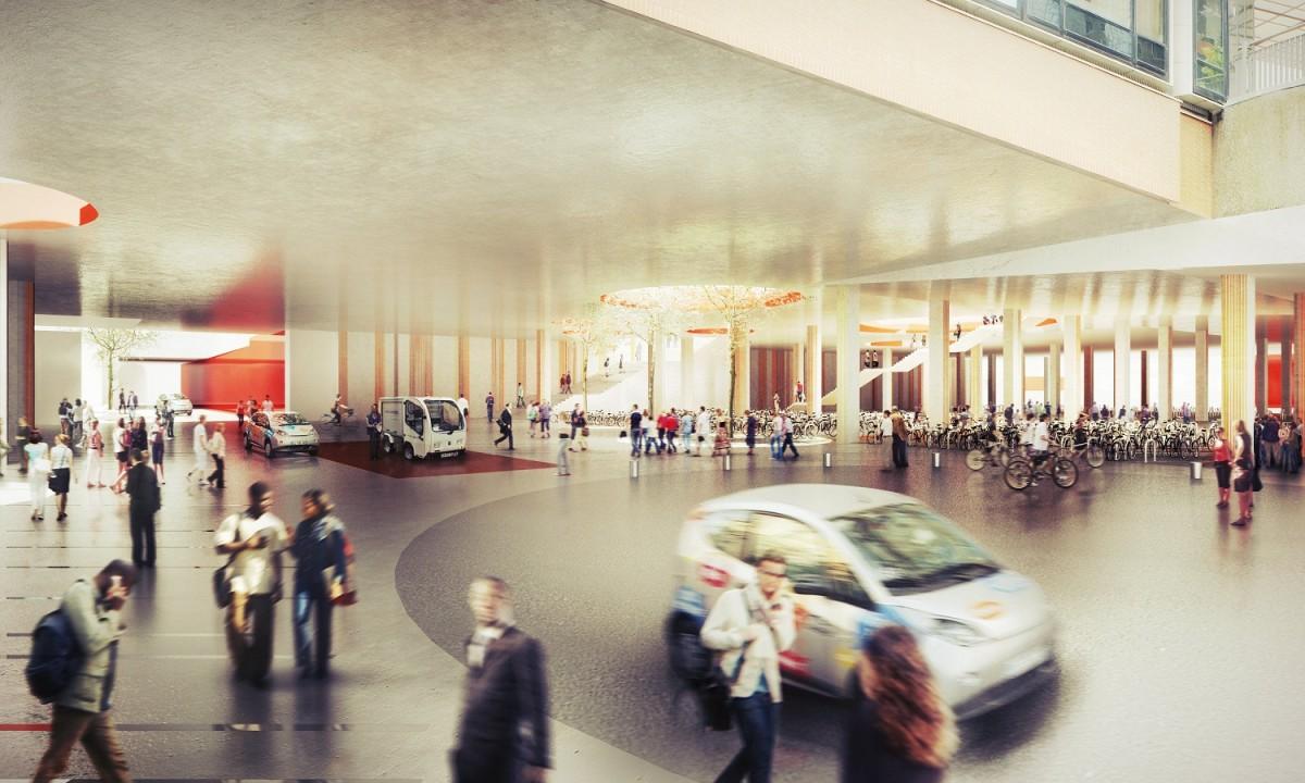 amenagement la defense courbevoie 1200x720 Le futur des espaces publics à La Défense en 2020 : toutes les images