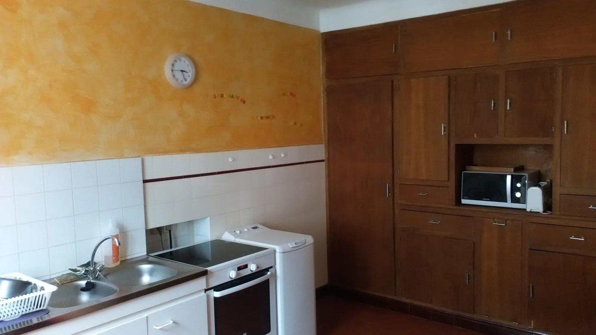 Olivier Je Cherche Des Idees Deco Couleurs Pour Ma Cuisine Ancienne Tomettes Au Sol Cote Maison