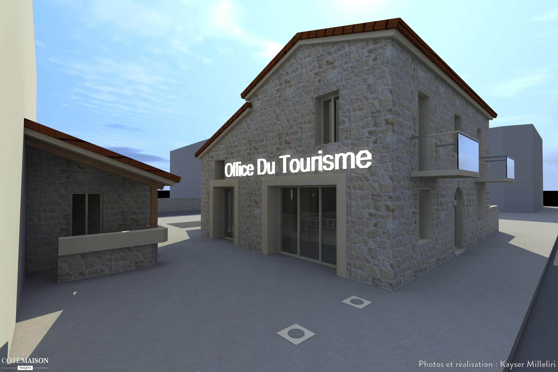 rehabilitation de la maison cantonniere pour la creation de l 039 office du tourisme kayser milleliri cote maison