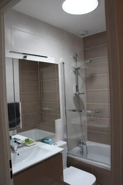 salle de bain taupe cuisine interieur