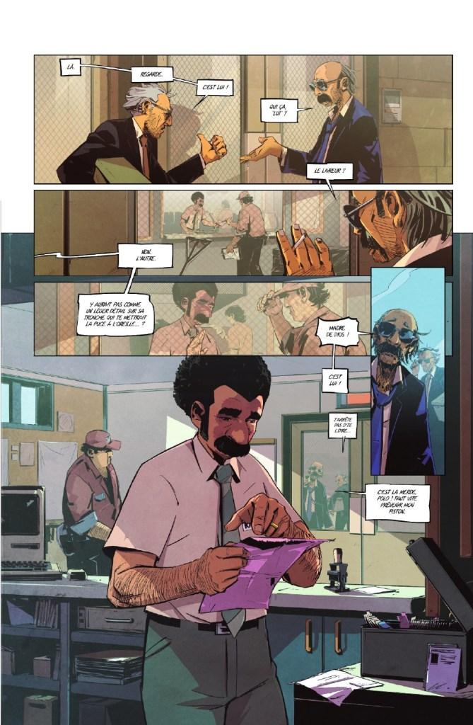 Page intérieur de la BD : Il faut flinguer ramirez Nicolas Petrimaux Glenat