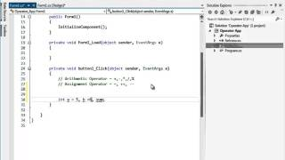 C# প্রোগ্রামিং টিউটো পর্ব-০৬ (Operator, Operand and Expression)