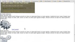 PSD To HTML টিউটো পর্ব-০৬ (স্টাইলশিট তৈরি এবং কাস্টম ফন্ট অ্যাড করা)