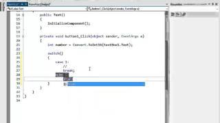 C# প্রোগ্রামিং টিউটো পর্ব-১০ (Switch Statement)