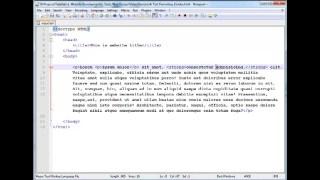 ওয়েব ডিজাইনে হাতে খড়ি পর্ব-০৪ (Text Formating 1)