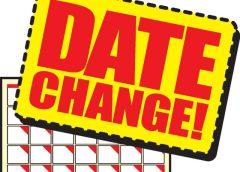Calendar Update for 2020 Q4