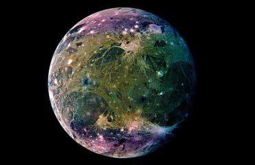 Ганимед - спутник Юпитера