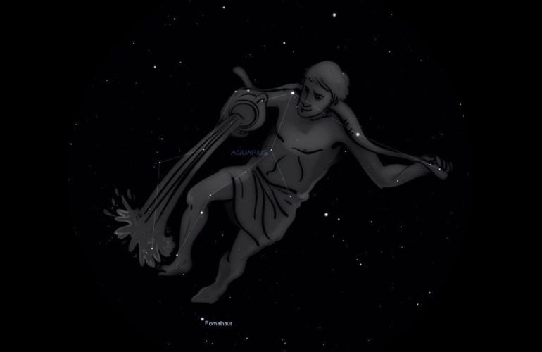 Зодиакальное созвездие Водолей