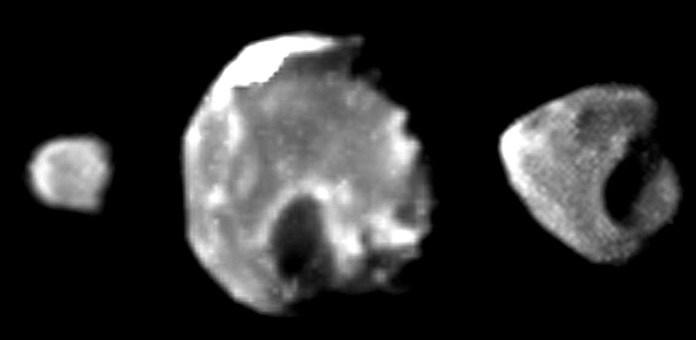 Снимки спутников Юпитера