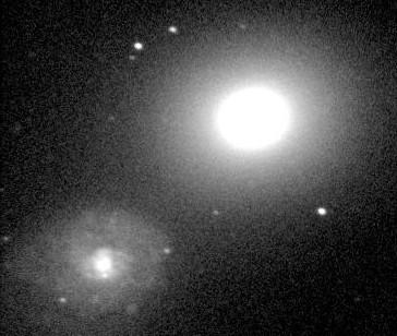 Мессье 60 - галактика в созвездии Девы