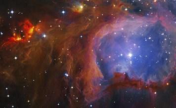 Мессье 43 - Туманность де Мерана