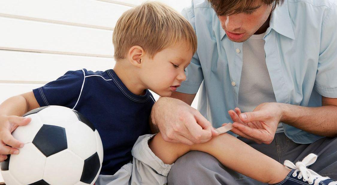 Чем мазать разбитые коленки? «Асфальтная болезнь»: правильно лечим содранные коленки
