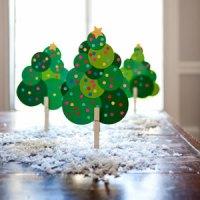 Árvore de natal com círculos