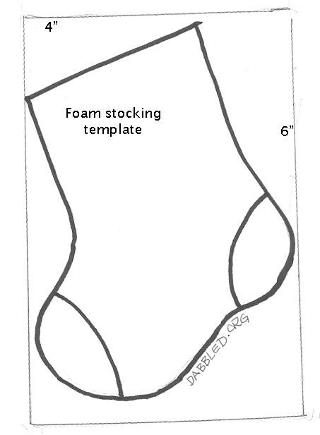 graphic regarding Christmas Stocking Template Printable named xmas templates. mini xmas stocking template