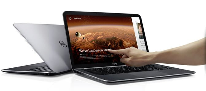 Dell XPS 13 9333 man hinh cam ung
