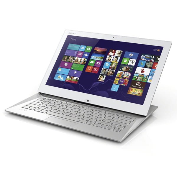 Sony VAIO Duo 13 SVD13 Ultrabook màu trắng