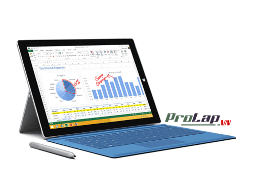 Surface Pro 3 Type Cover mau Xanh